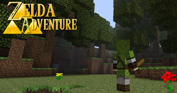 Zelda Adventure v 0 9 7 1 3 2 › Maps › MC PC NET Minecraft
