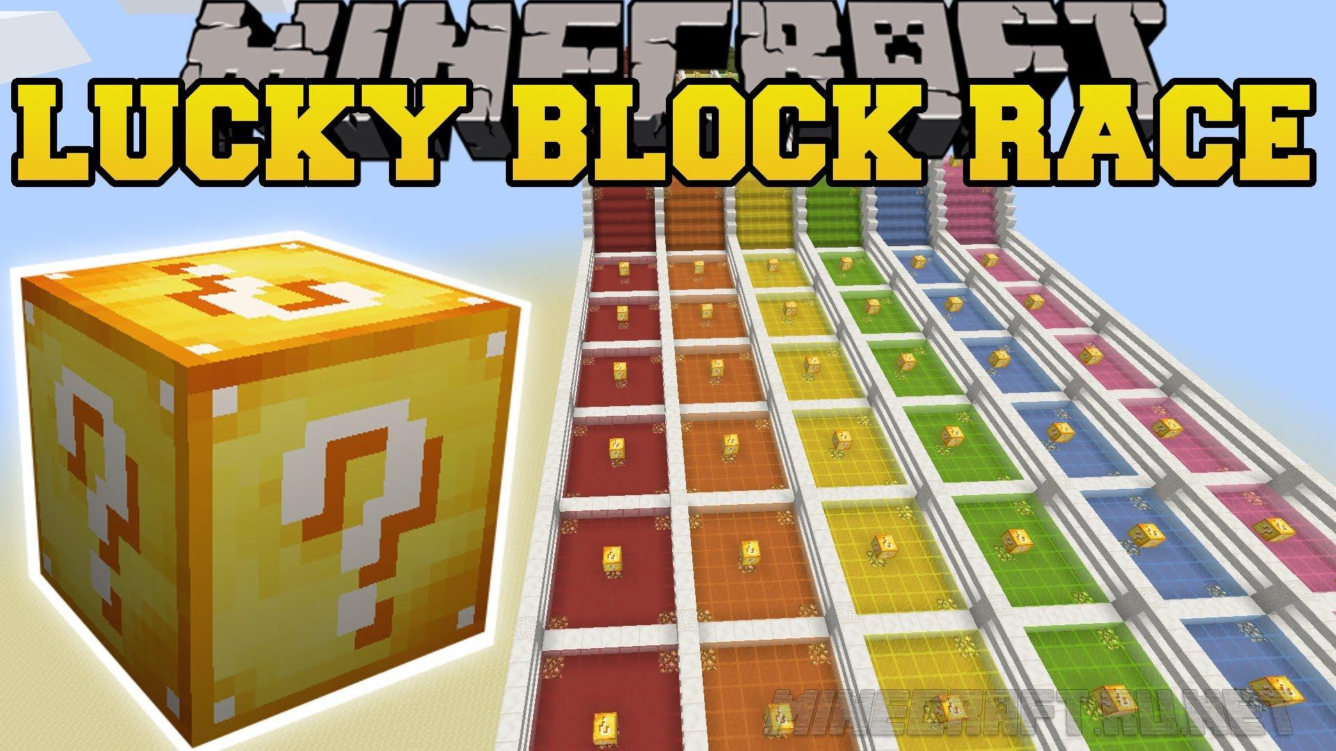 Minecraft Lucky Block Race