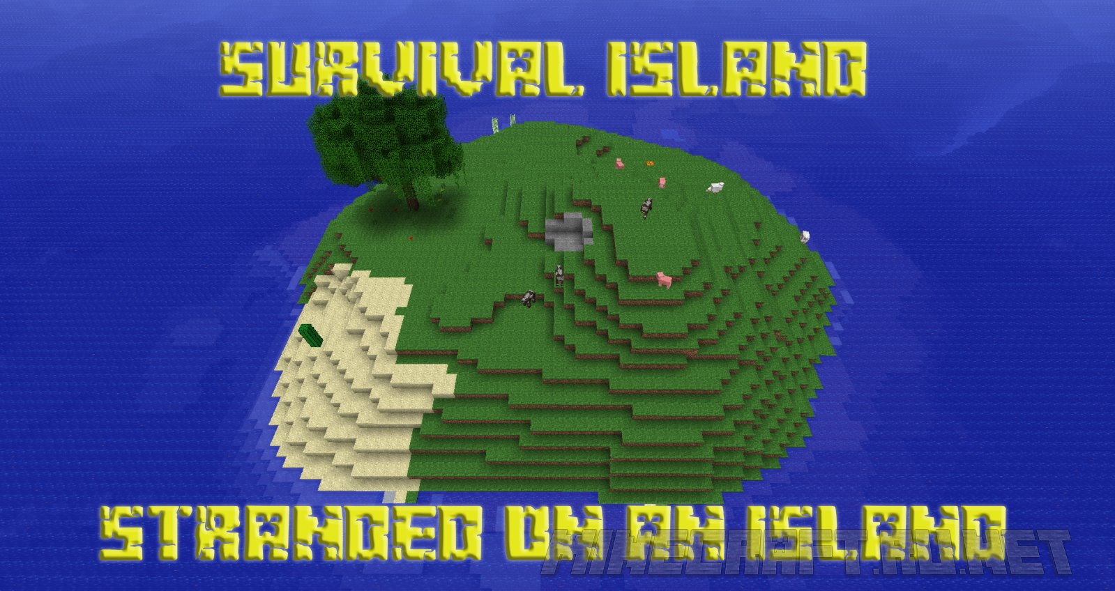 Minecraft Survival Island - Stranded on an Island