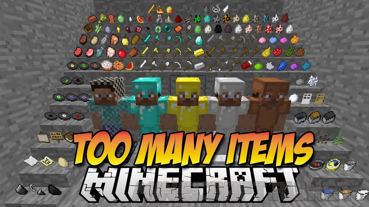 Minecraft TooManyItems