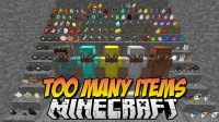 TooManyItems - Mods