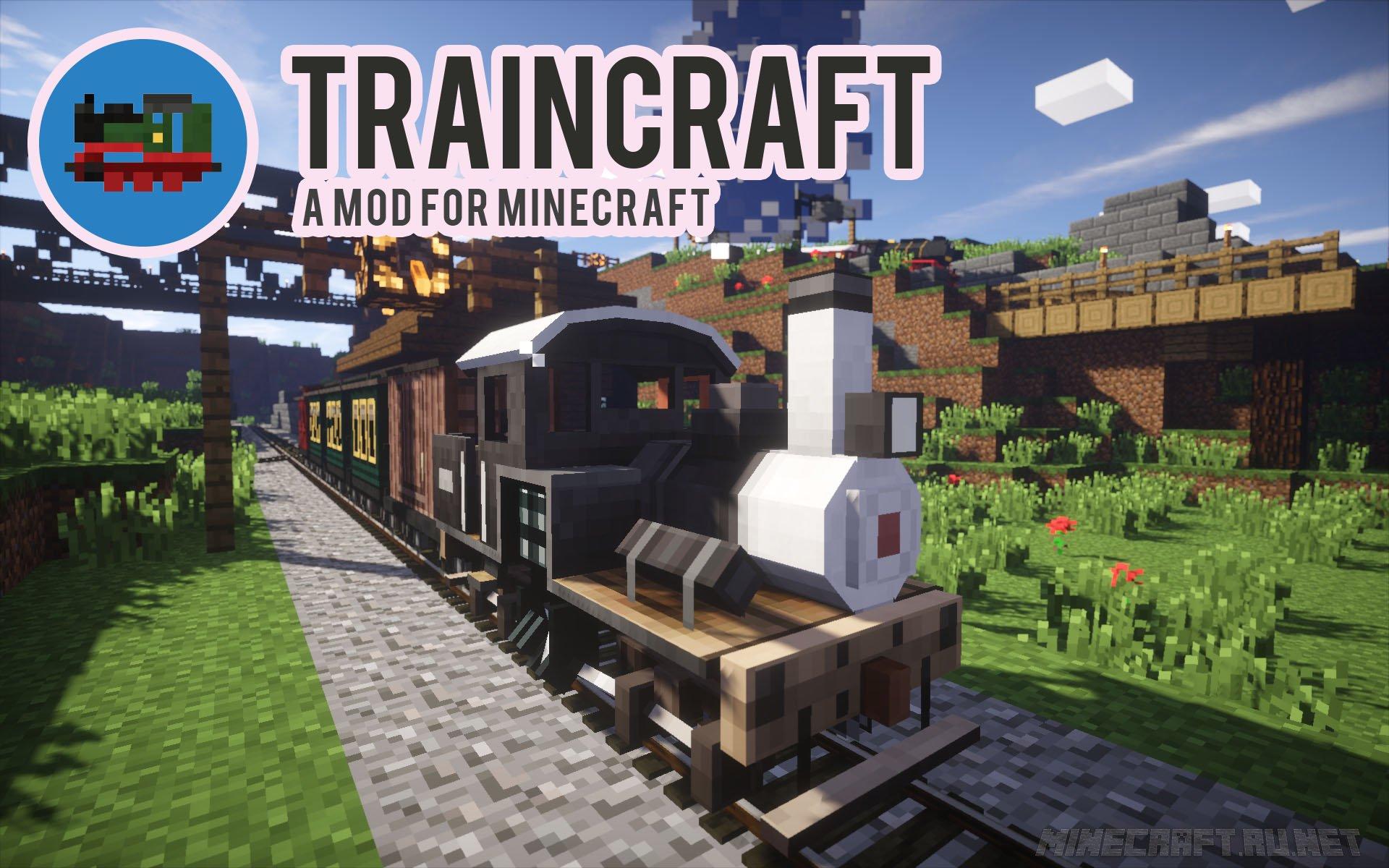Minecraft TrainCraft