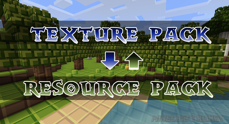 Minecraft Как конвертировать текстуры в ресурс паки?