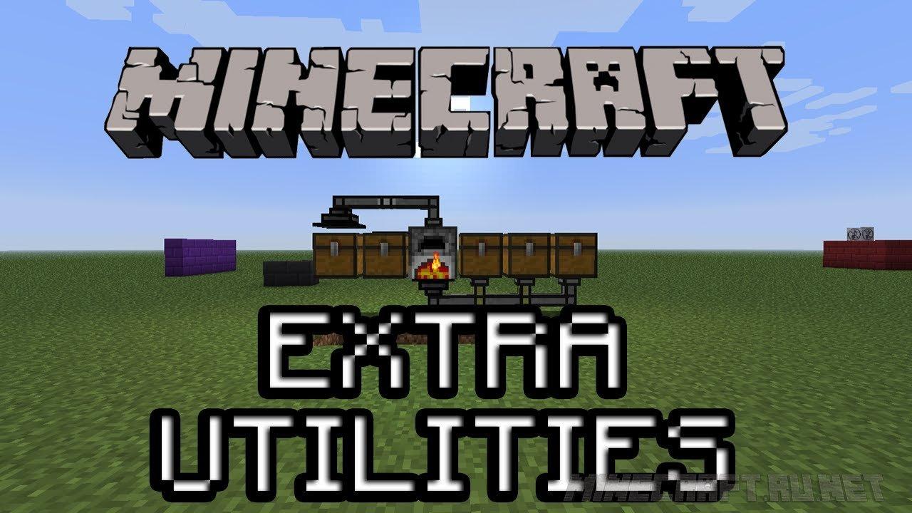 Minecraft Extra Utilities