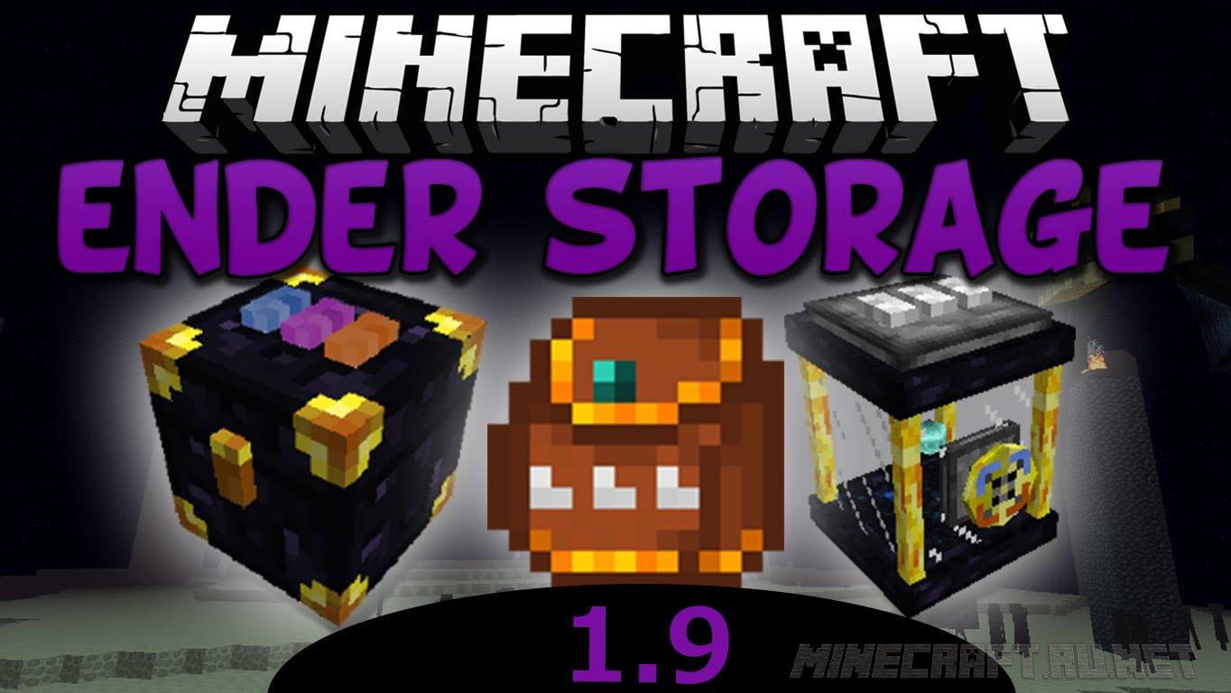 Minecraft EnderStorage