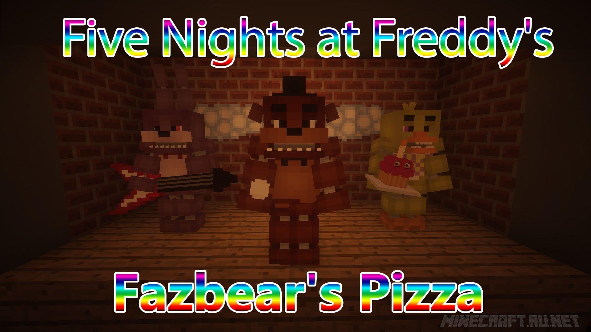 Minecraft Five Nights at Freddy's - Fazbear's Pizza (FNAF)
