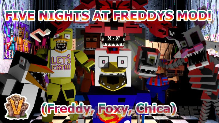 Minecraft VoidsWrath Five Nights at Freddy's Mod