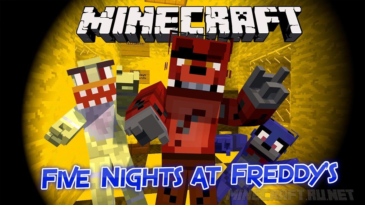 Minecraft Five Nights at Freddy's - Vanilla Minecraft Horror (FNAF 1)