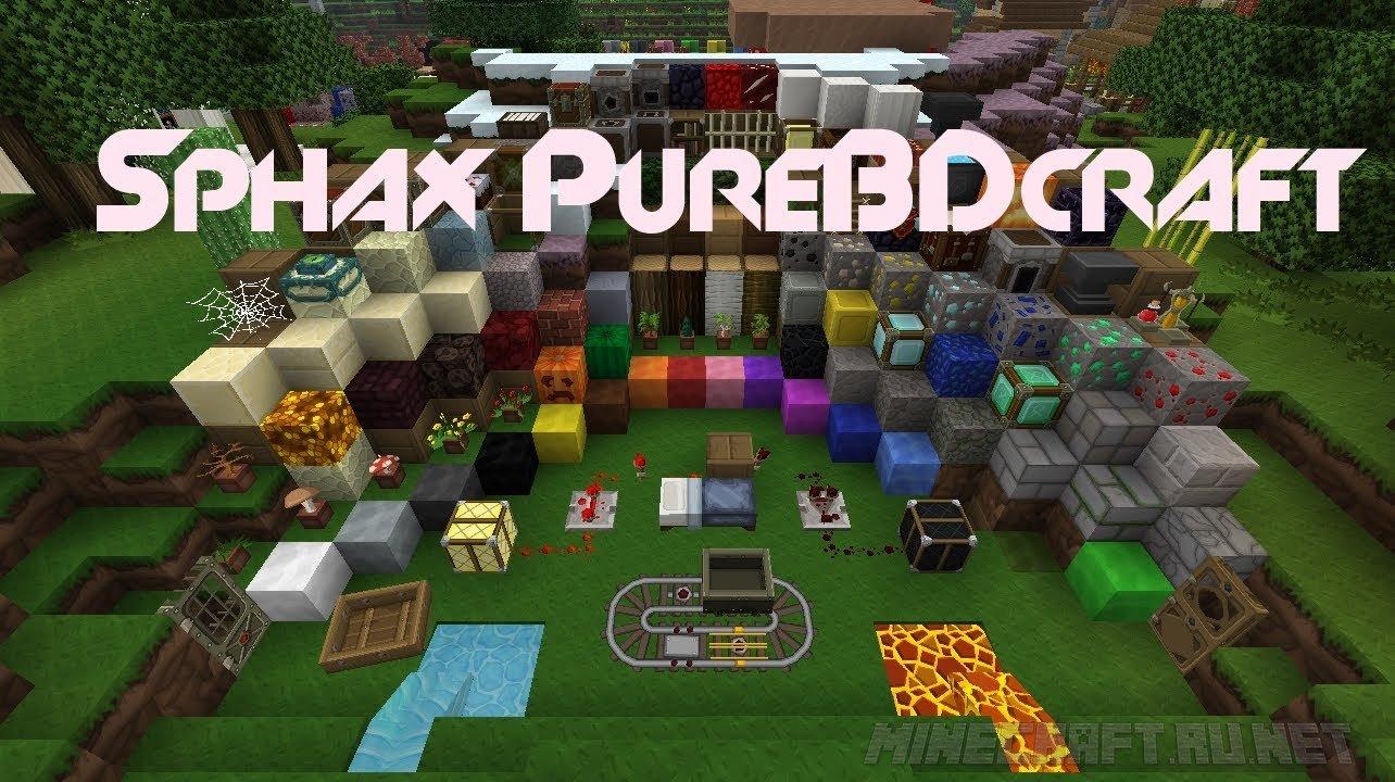 Minecraft Sphax PureBDcraft