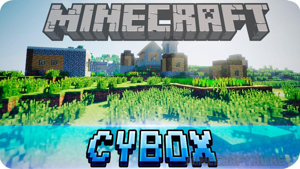 Minecraft CYBOX Shaders