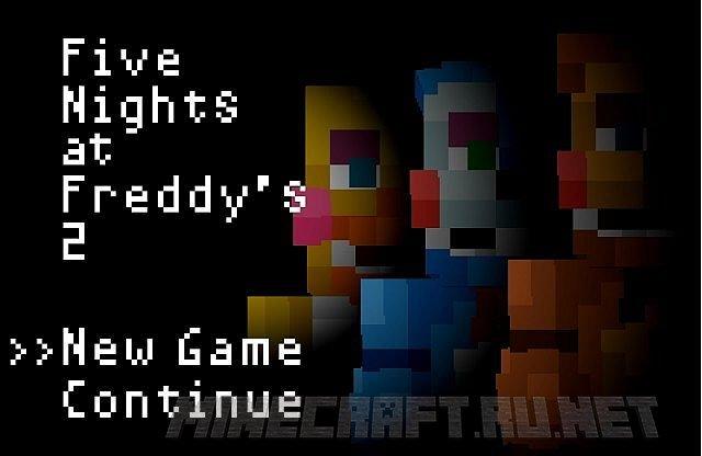 Minecraft Five Nights at Freddy's 2 by Legoskeleton (FNAF 2)