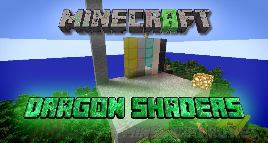 Minecraft DethRaid's Awesome Graphics On Nitro (DRAGON) Shaders