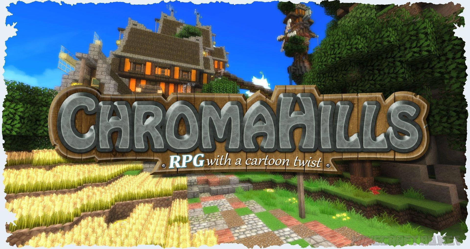 Minecraft Chroma Hills