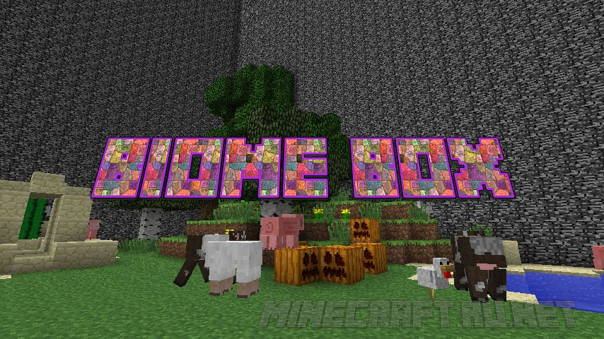 Minecraft Biome Box