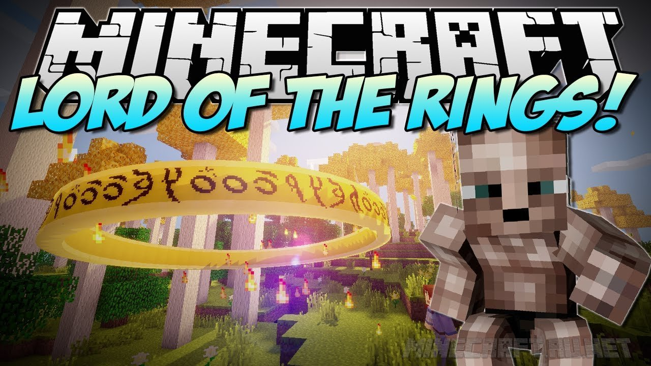 Minecraft The Lord of the Rings