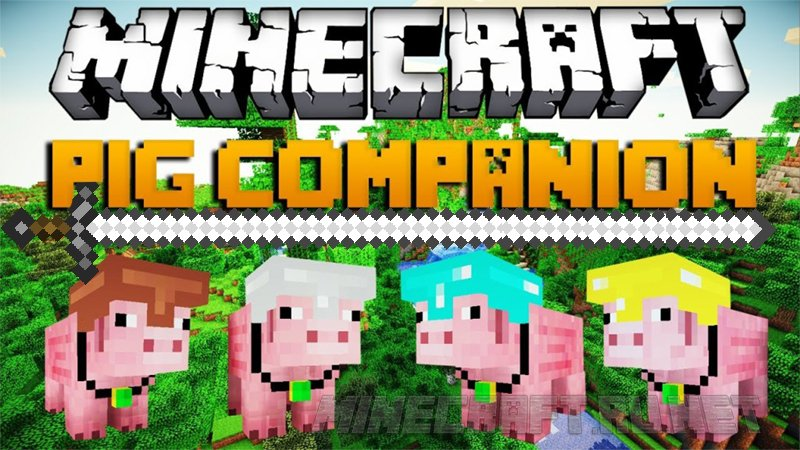 Minecraft SimJoo's Pig Companion