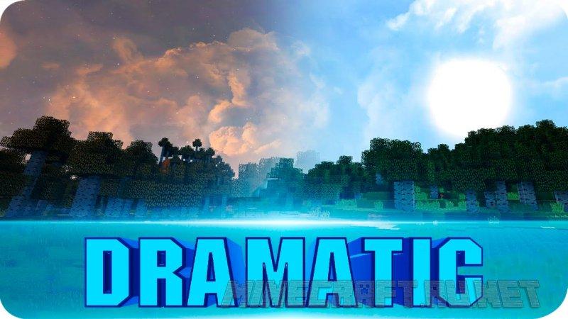 Minecraft Dramatic Skys
