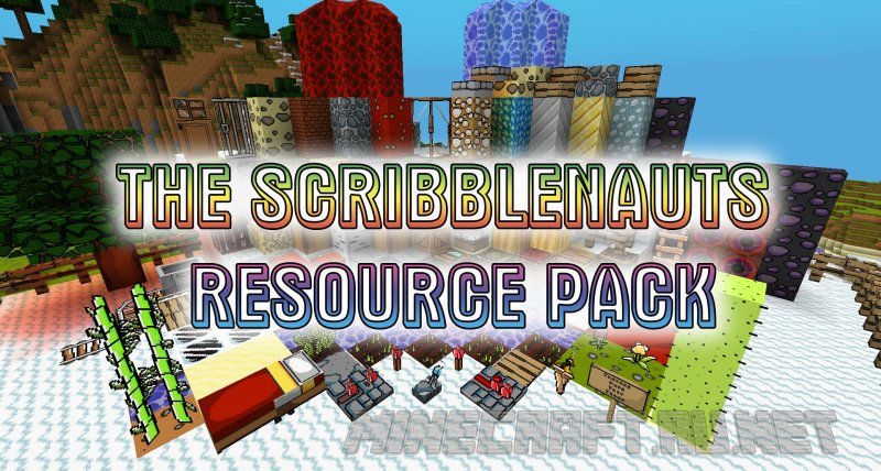 Minecraft The Scribblenauts