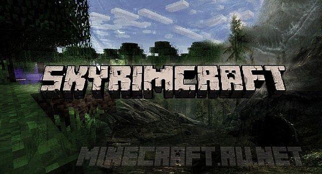 Minecraft The Ender Scrolls - SkyrimCraft