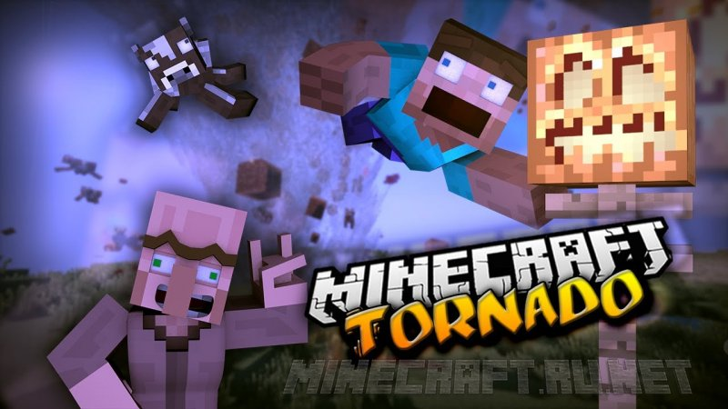 Minecraft Localized Weather & Stormfronts Mod