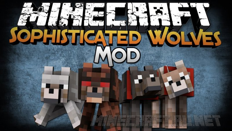 Minecraft Sophisticated Wolves