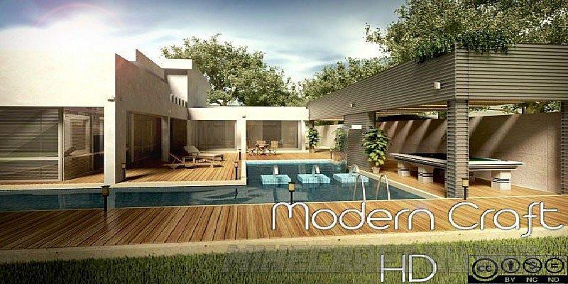Minecraft Modern Craft HD
