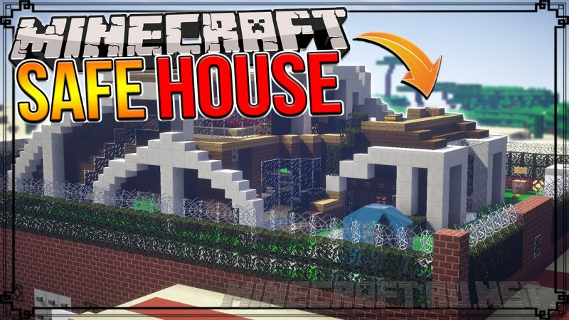 Minecraft The World's Safest Redstone House