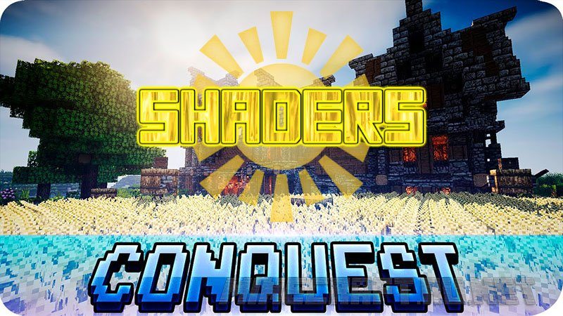 Minecraft Conquest of the Sun Shaders
