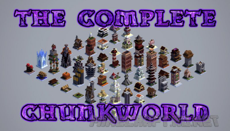 Minecraft The Complete ChunkWorld