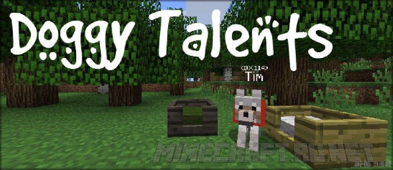 Minecraft Doggy Talents