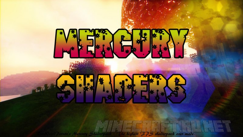 Minecraft DatWeirdPerson's Mercury Shaders