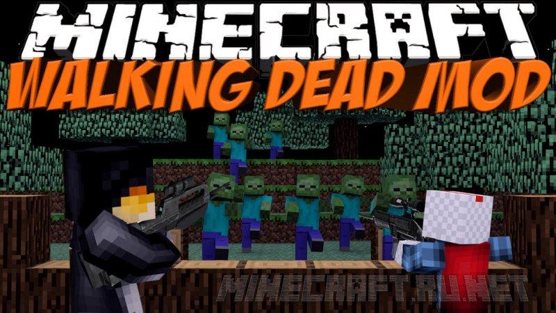 The Walking Dead V 2 8 1 8 Mods Mc Pc Net Minecraft Downloads