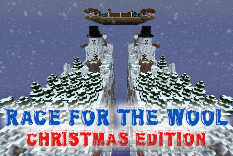 Minecraft Race for the Wool