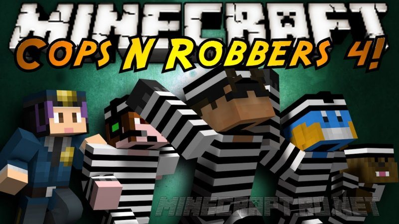 Minecraft Cops and Robbers 4: High Security