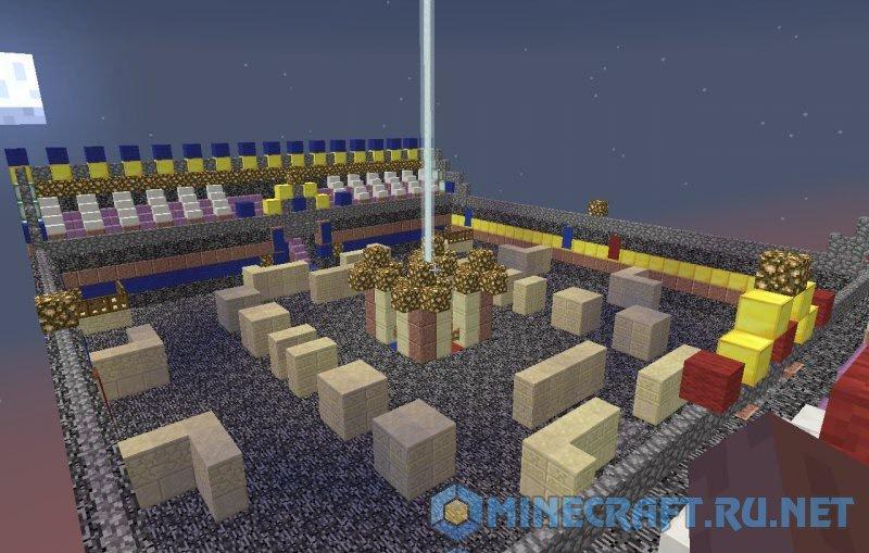 Minecraft SKY PVP Arena