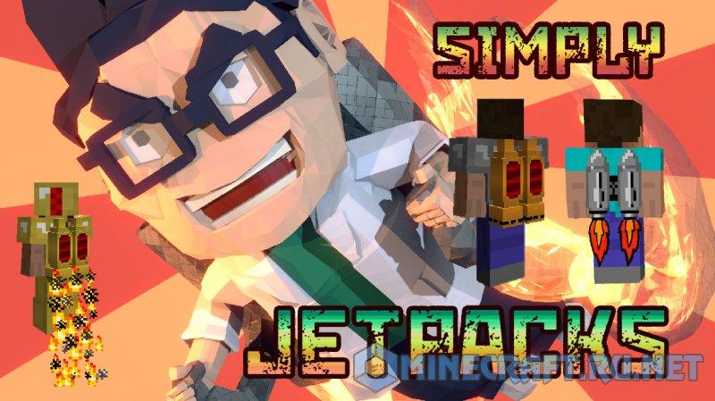 Minecraft SimplyJetpacks