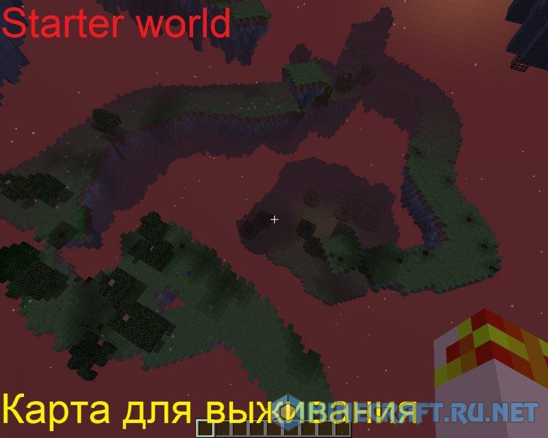 Minecraft Starter world