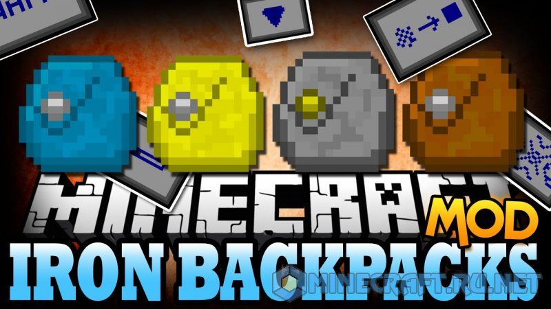 Minecraft Iron Backpacks