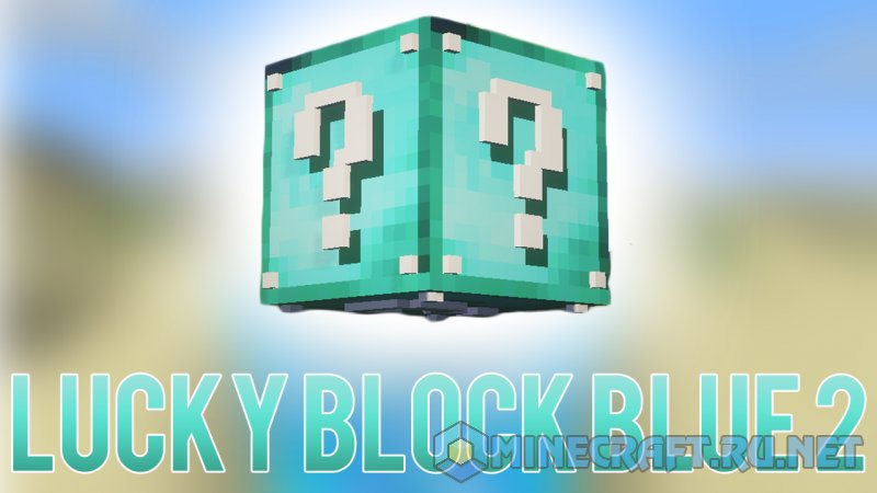 Minecraft Lucky Block Blue 2