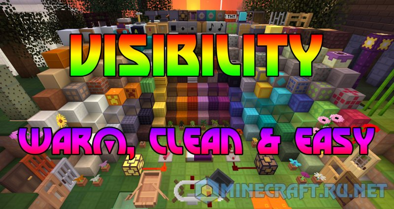 Minecraft Visibility (Warm, Clean & Easy)
