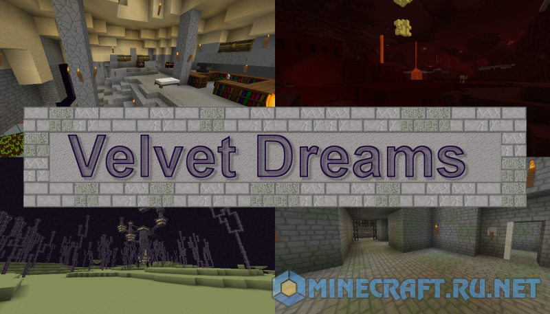 Minecraft Velvet Dreams