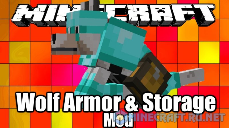 Minecraft Wolf Armor and Storage