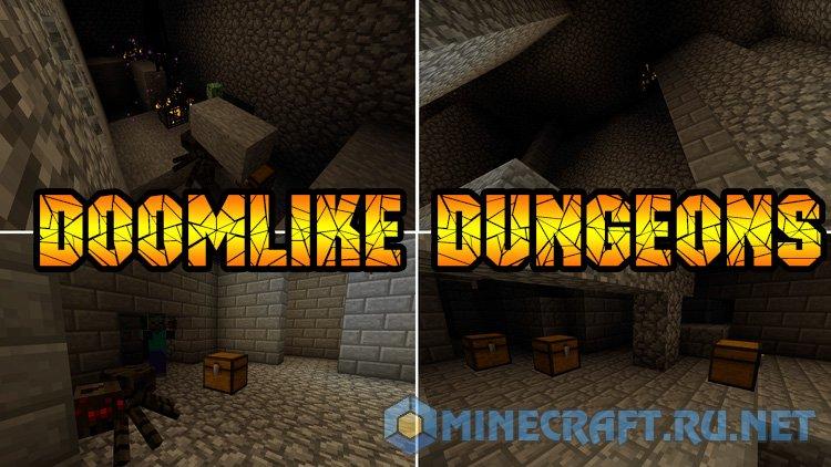 Minecraft Doomlike Dungeons