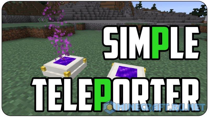Minecraft Simple Teleporters