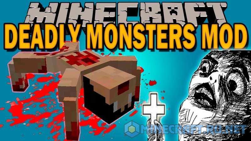 Minecraft Deadly Monsters