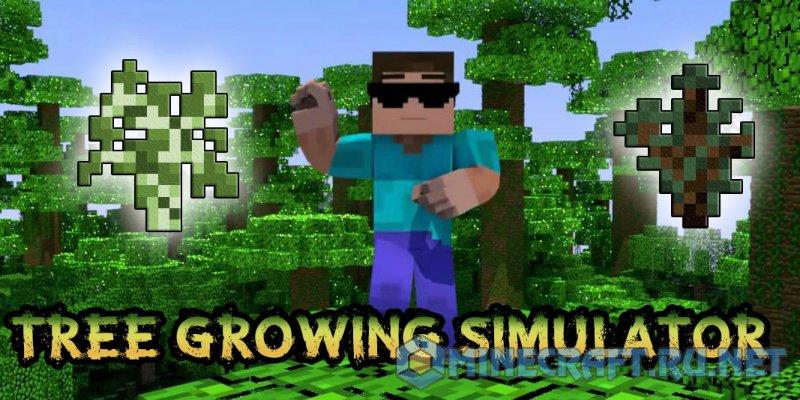 Minecraft Tree Growing Simulator