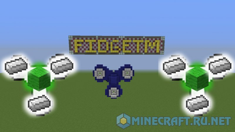 Minecraft FidgetM