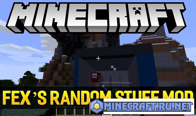 Minecraft Fex's Random Stuff Mod