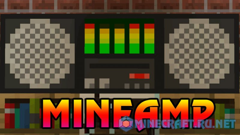 Minecraft MineAmp