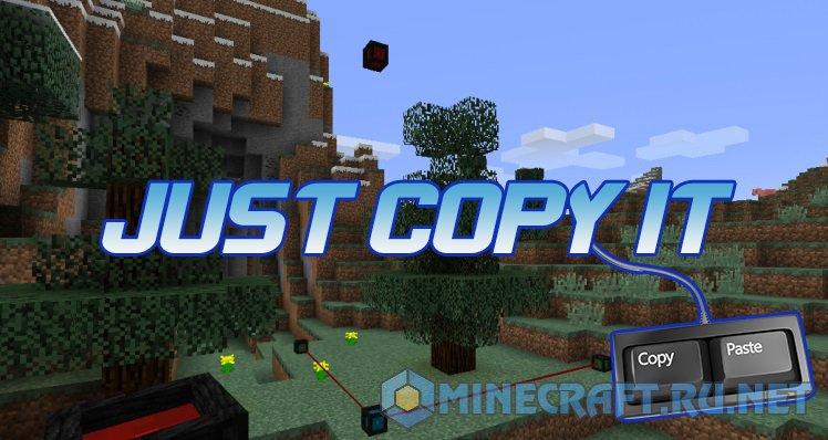 Minecraft Just Copy It